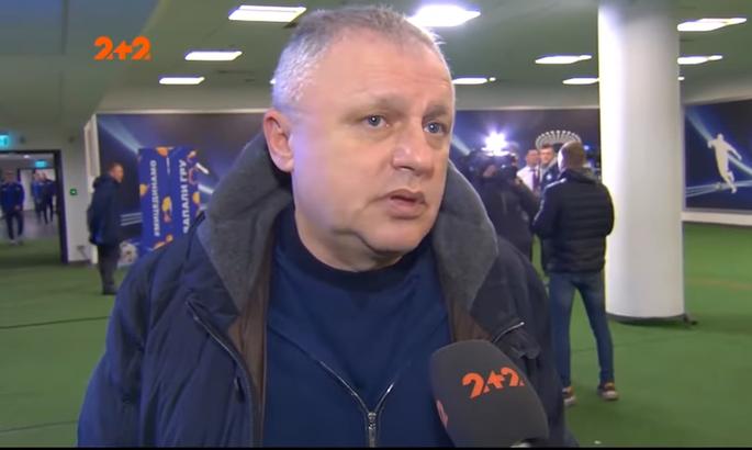Суркис обратил внимание на странные решения судьи в кубковом матче с Александрией
