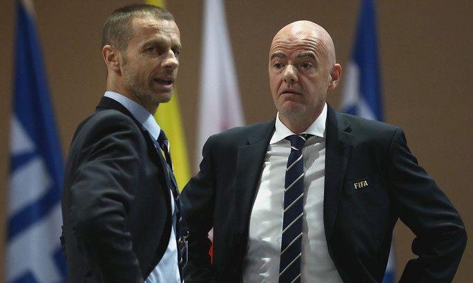 """""""Потрібно було піти на найбільші жертви"""". Інфантіно та Чеферін – про перенесення ЄВРО-2020"""