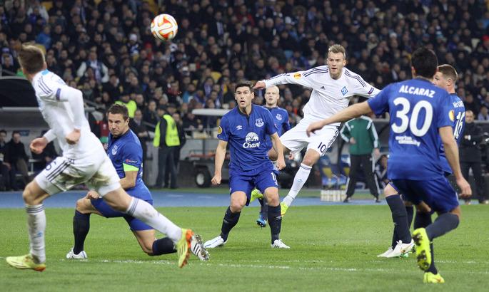 Пять лет назад Динамо и Днепр синхронно вышли в четвертьфинал Лиги Европы