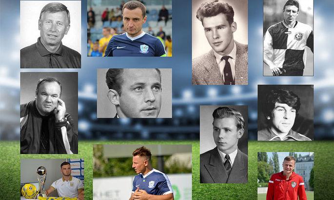 Топ-100 футболістів Закарпаття - версія футбольних статистів