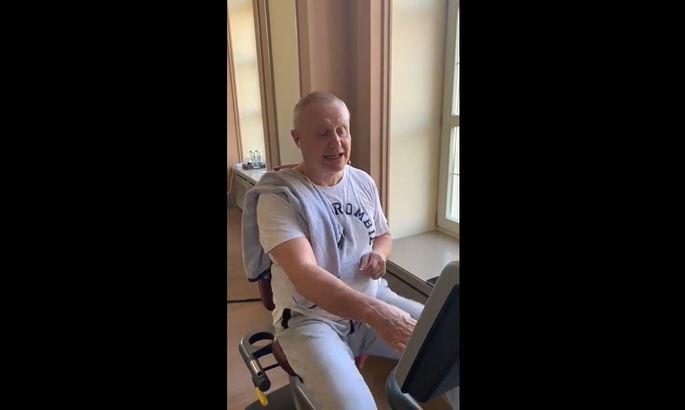Григорий Суркис: Кручу педали в спортзале, никакой вирус не догонит