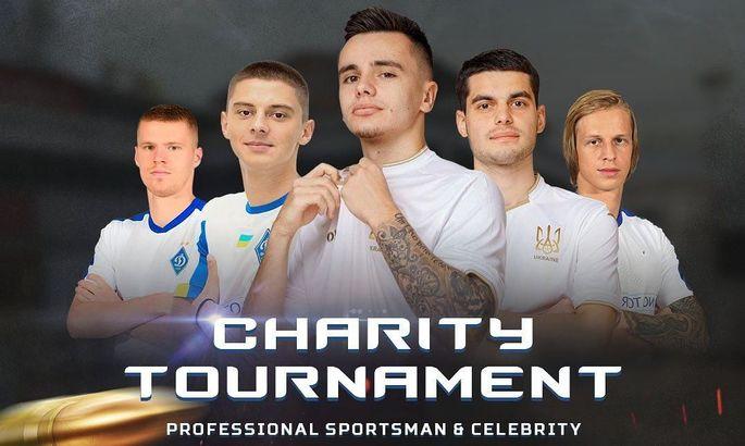 5 гравців Динамо і Зубков також зіграють в благодійному турнірі з Counter-Strike