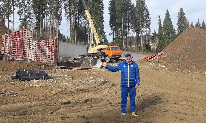 Строительство первой очереди биатлонного комплекса в Буковеле официально завершено