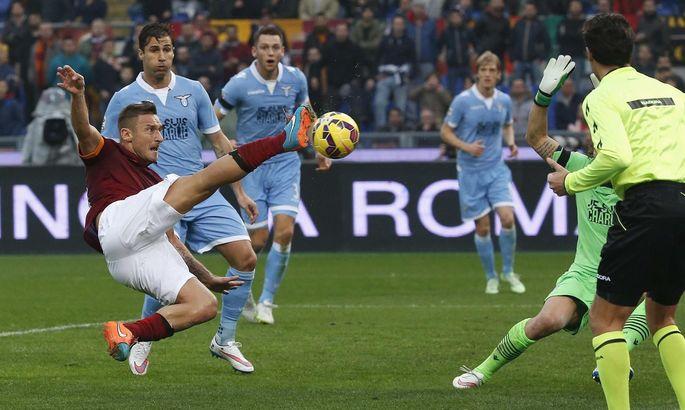Франческо Тотти: Я надеюсь, что Лацио провалиться как можно скорее