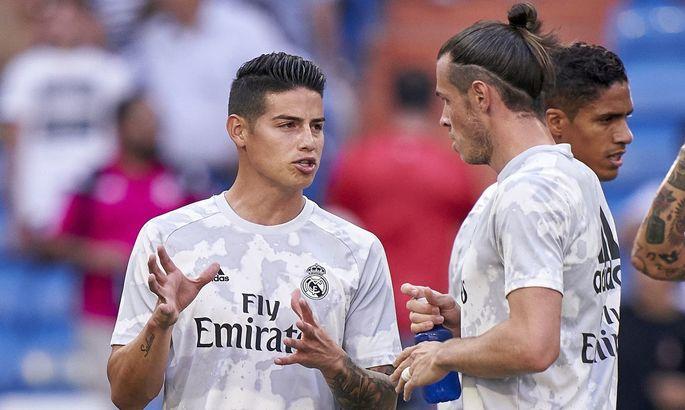 Реал планирует избавиться от 9 игроков. Бэйл и Хамес выставлены на продажу