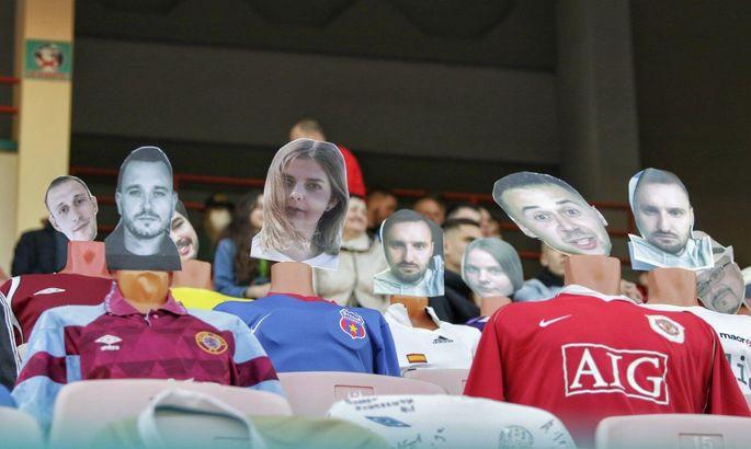 Манекены на трибунах: в Динамо Брест продали виртуальные билеты на матч Кубка Беларуси