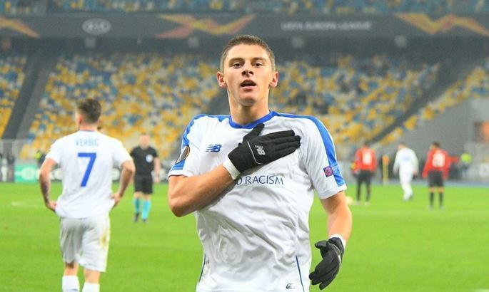 Миколенко и Попов - лучшие игроки Динамо в поединке с Ювентусом