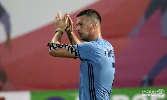 Милевский дебютировал за Минай в матче против своего бывшего клуба