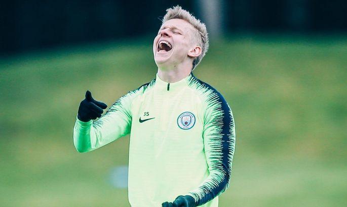 Зинченко заявлен на ЛЧ в составе Манчестер Сити на новой позиции