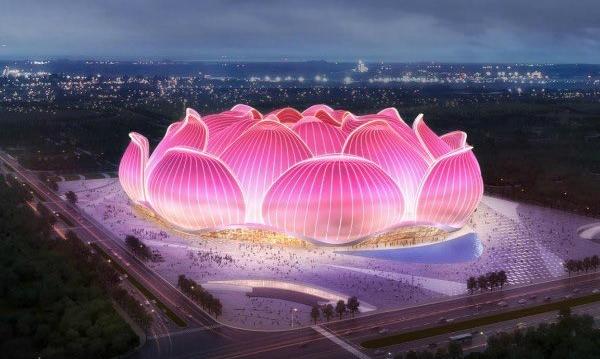 У Китаї почали будівництво найбільшого стадіону в світі