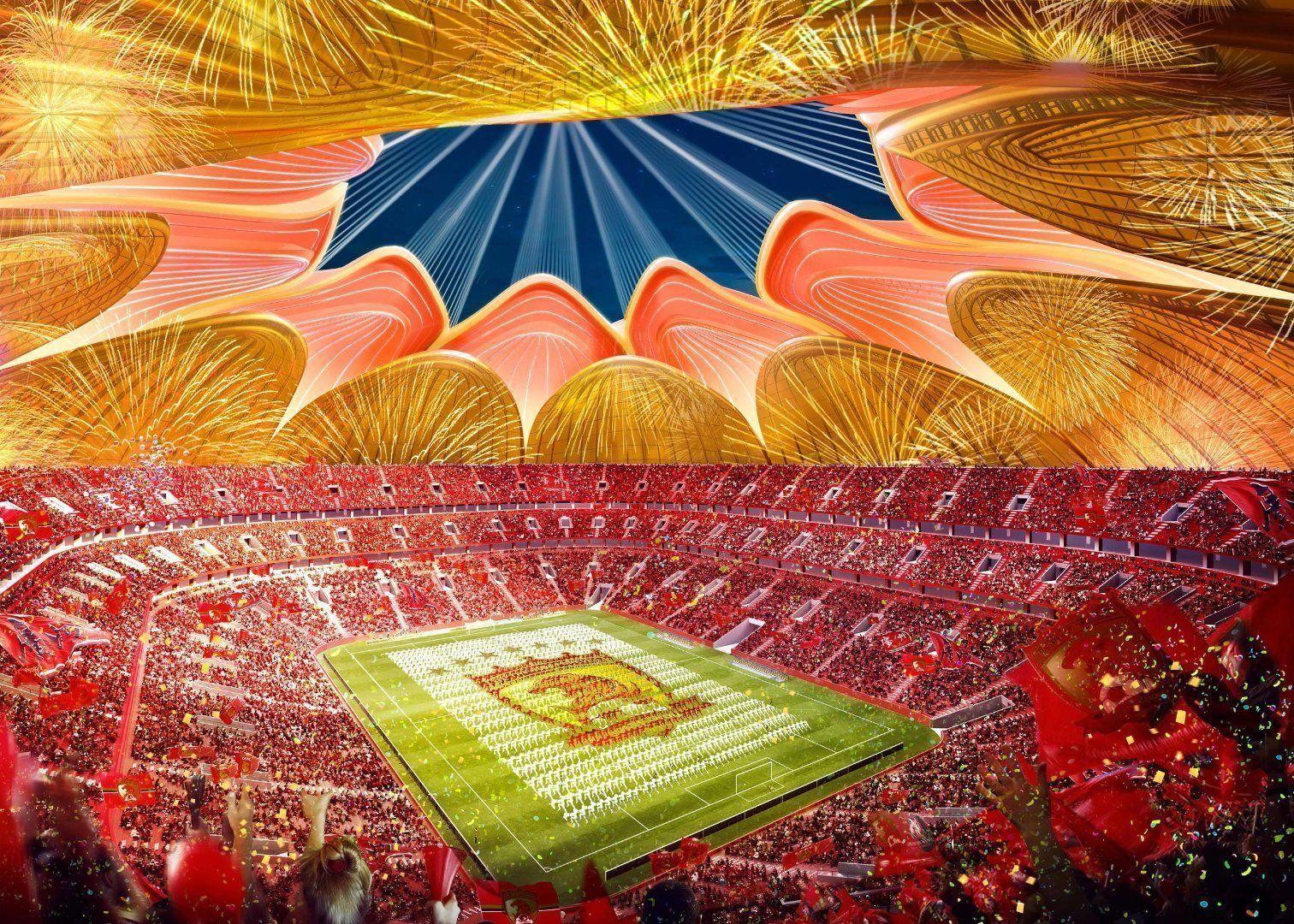 У Китаї почали будівництво найбільшого стадіону в світі - изображение 2