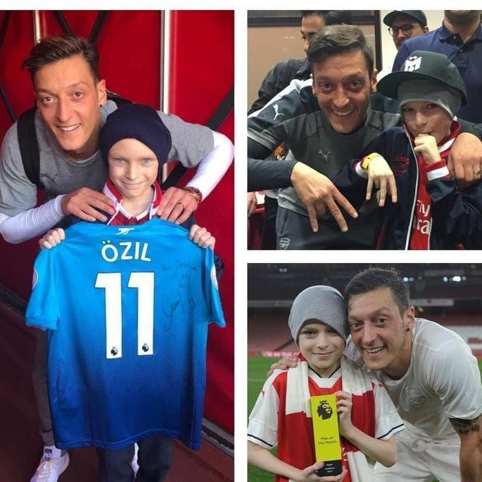 Месут Озил - один из самых щедрых футболистов АПЛ. Спасает детей и кормит бездомных. ФОТО - изображение 5