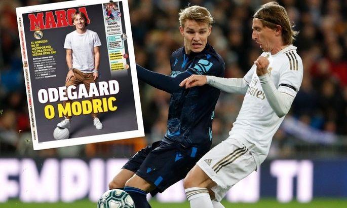 Marca: Модрич может помешать Эдегору вернуться в Реал этим летом