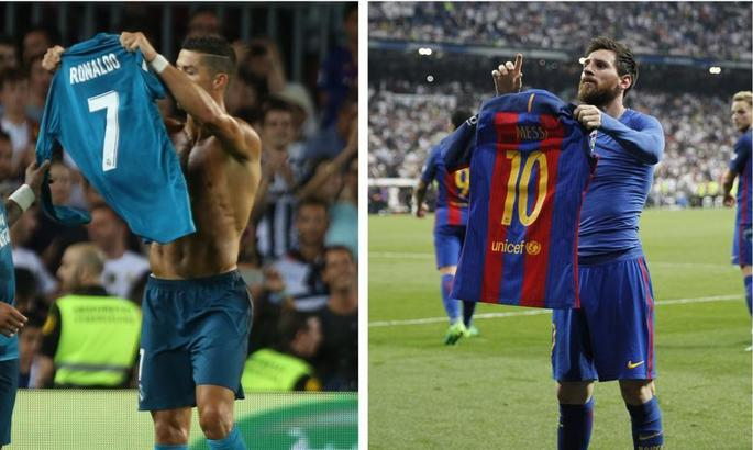 Три года назад Месси подразнил Бернабеу снятой и выставленной напоказ футболкой. Роналду вскоре ответил