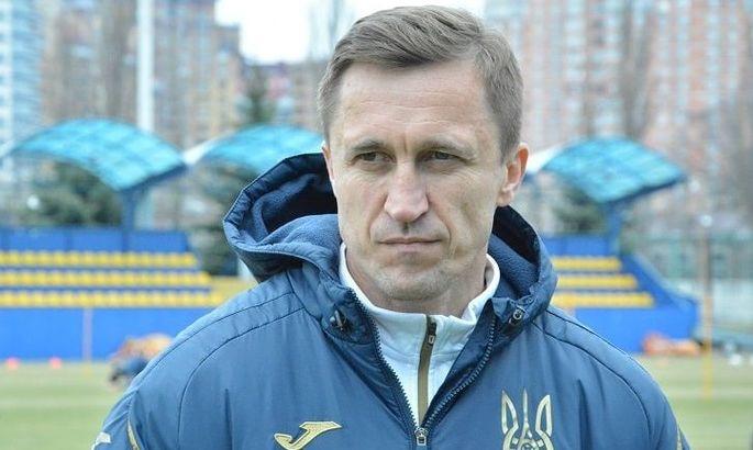Нагорняк остается в сборной Украины U-17. Эпицентре он - тренер-консультант
