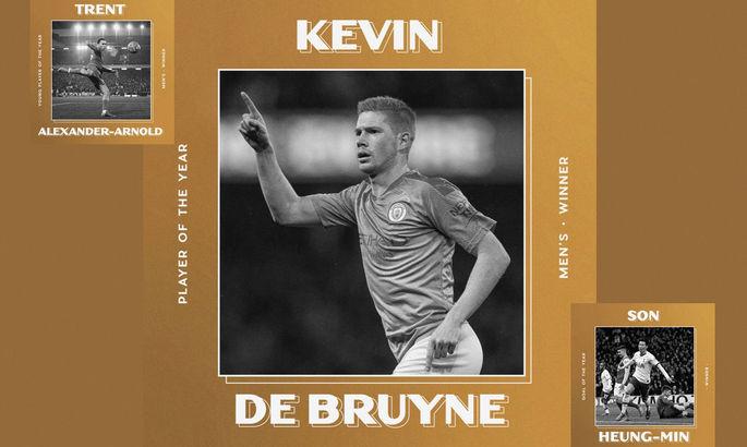 The Athletic: Де Брюйне – лучший игрок сезона в АПЛ. Также объявлены лучший молодой игрок и гол кампании