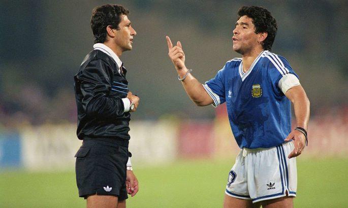 Суддя фіналу ЧС-1990: Марадона брудно лаявся під час гімну і назвав мене злодієм
