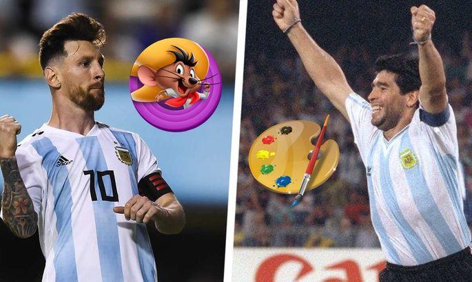 Экс-капитан сборной Аргентины: Марадона – это чистое искусство, а Месси – Спиди Гонсалес
