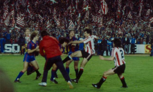 36 лет назад Марадона спровоцировал побоище после финала кубка Испании и покинул Барселону