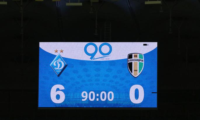 В этот день: Динамо забило шесть Александрии. Это самая крупная победа киевлян за последние три года