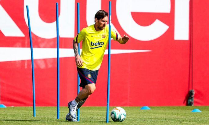 Мессі проти фішок: Барселона відновила індивідуальні тренування на базі