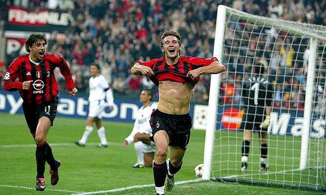 19 років тому Мілан знищив Інтер 6:0 в головному дербі Італії. Шева оформив дубль