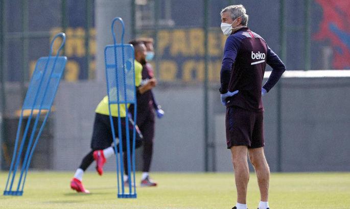 AS: Сетьен собирается изменить тактику Барселоны после возобновления Ла Лиги