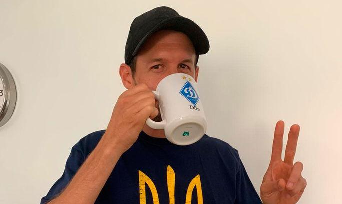 """""""Я наполовину украинец"""" - Данило Силва в Бразилии носит футболку с тризубом и просит жену готовить борщ"""