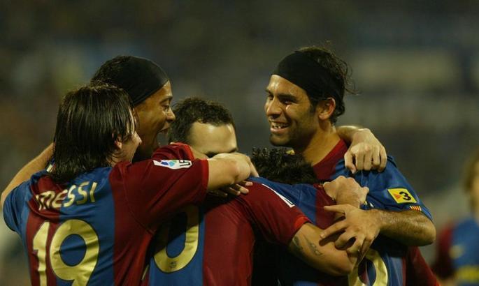 Рафаель Маркес: Було здорово спостерігати, як Мессі і Роналдіньо грали разом