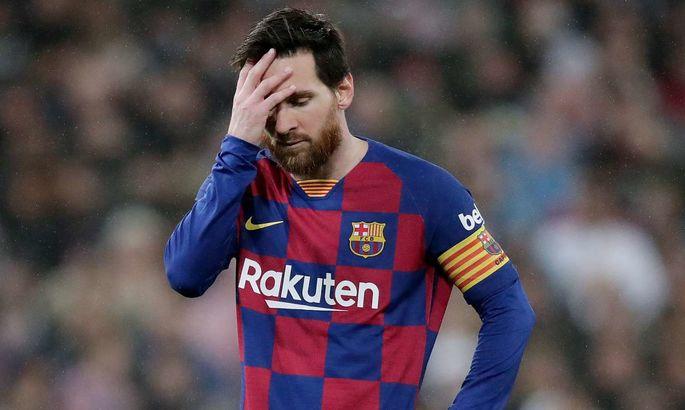 Месси: Барселона не сможет выиграть ЛЧ, если будет выступать как в последних матчах до перерыва