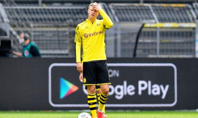 Голанд продовжує бомбити! Ерлінг забив перший гол в Бундеслізі після карантину