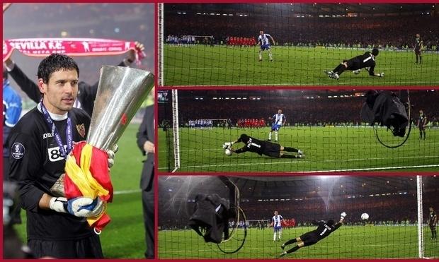 13 лет назад Севилья во второй раз выиграла Кубок УЕФА, пройдя Шахтер благодаря голу вратаря