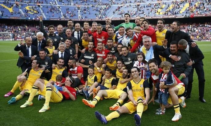 Шесть лет назад Атлетико сдержал Барсу на Камп Ноу и в десятый раз стал чемпионом Испании. Играл экс-футболист Металлиста
