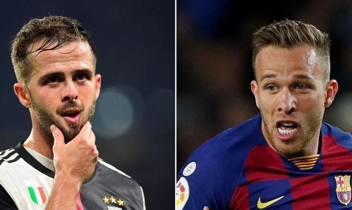 Стало известно, на каких условиях Барселона и Ювентус совершат обмен футболистами