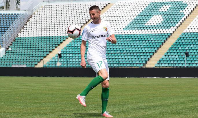 Ворскла продлила контракт с капитаном команды