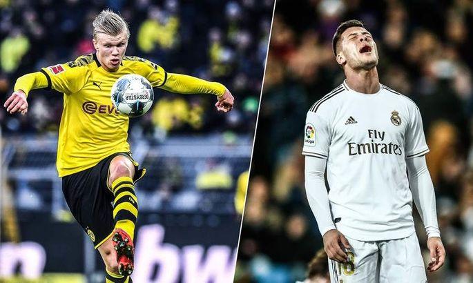 AS: Холанд не покинет Дортмунд до 2022 года – Зидан вынужден дать еще один шанс Йовичу?