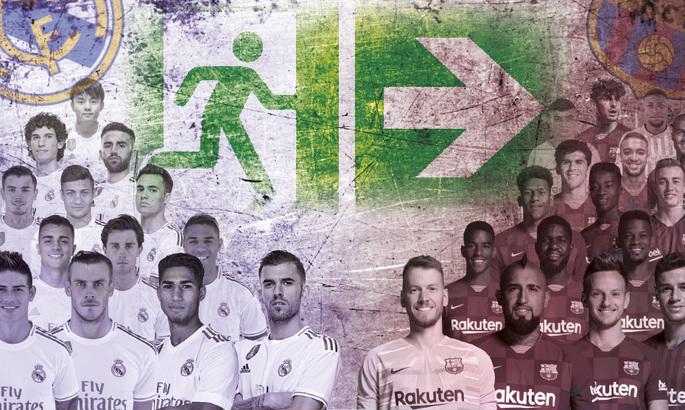 Из Реала и Барселоны летом могут уйти 30 игроков. Лунин гарантированно останется - Marca