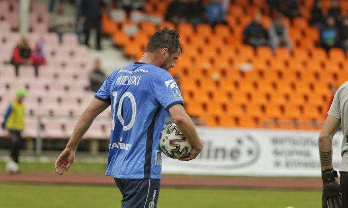 Білорусь: зароблений Мілевським пенальті врятував нічию для Бреста