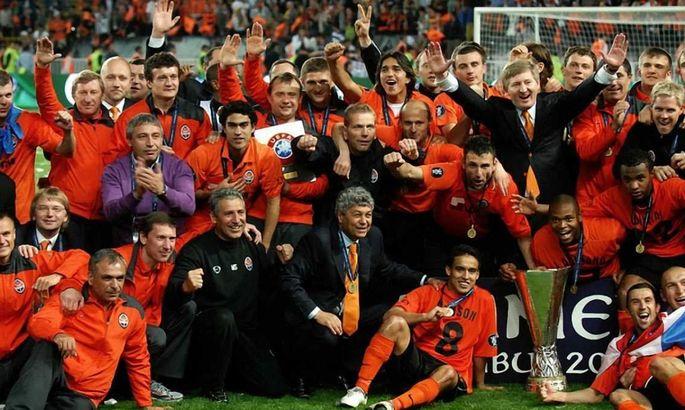 Шахтер - обладатель Кубка УЕФА. В этот день в 2009 году