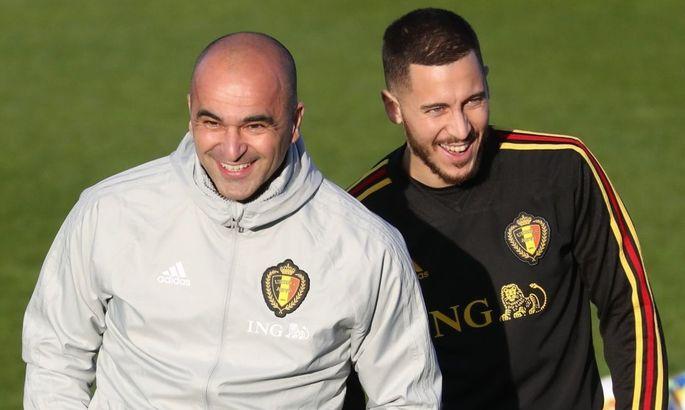 Бельгійці оголосили про подовження контракту із Мартінесом за допомогою Азара, який грає в FIFA