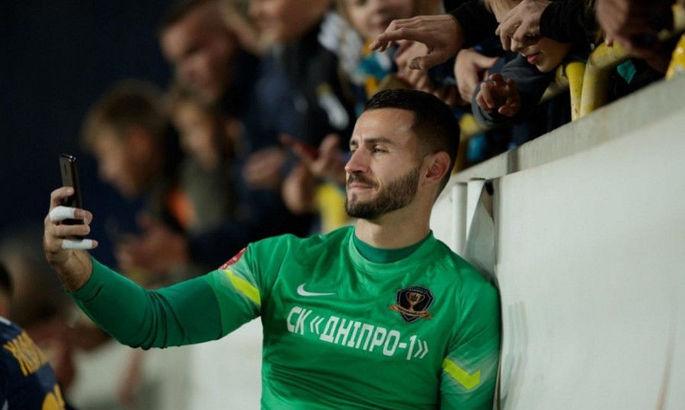 Вратарь Днепр-1 рассказал о тренировках киперов: