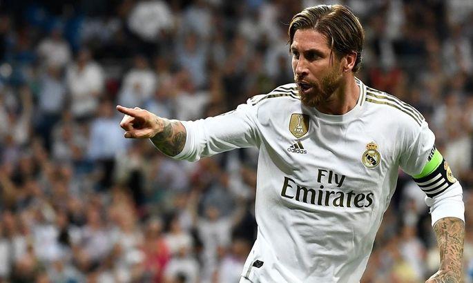 Розмашисті ножиці Рамоса: 34-річний капітан Реала декласував партнерів у тенісболі