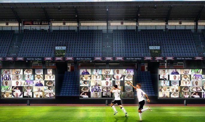 Цифровая революция в Дании: Орхус вернет болельщиков на трибуны с помощью 22 экранов
