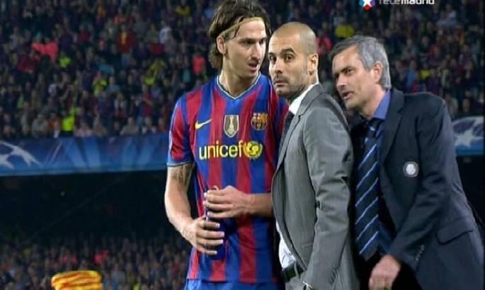 """""""Не празднуйте, игра еще не закончена"""". Моуриньо признался, что сказал Гвардиоле в матче Барселона - Интер"""