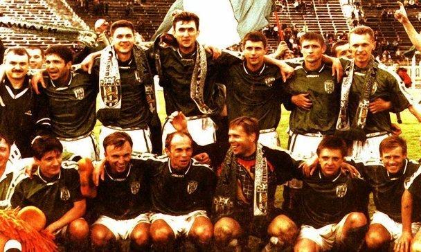 1997 и 1998 годы - лучшие в истории Карпат. Маркевич дважды обыграл Лобановского и сделал Львов третьим