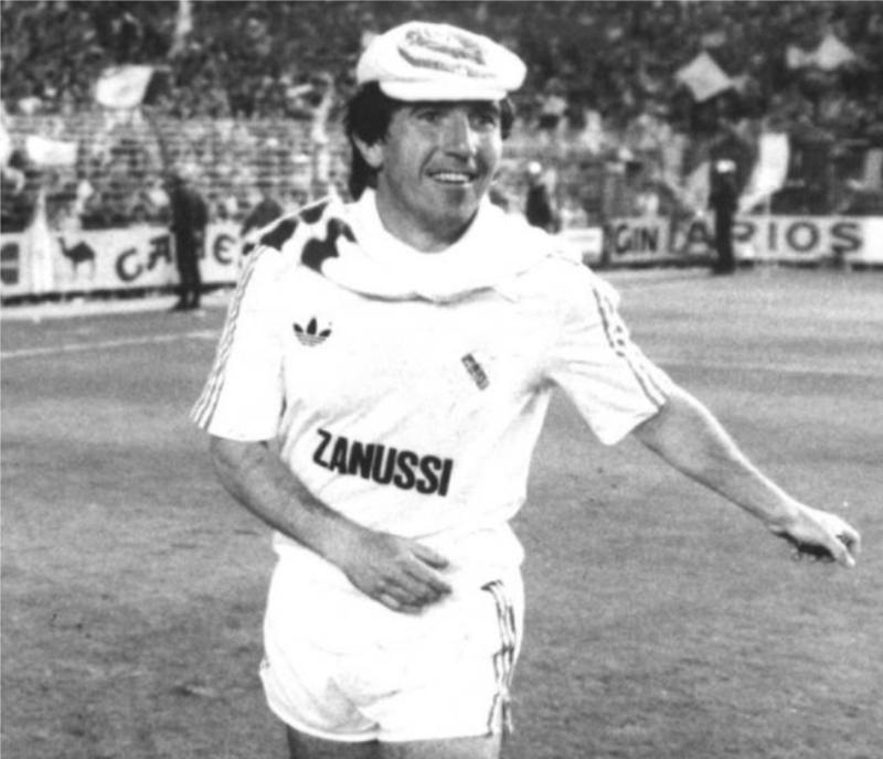 35 років тому Реал виграв свій перший Кубок УЄФА. Святкування одного з гравців стало легендарним - изображение 1