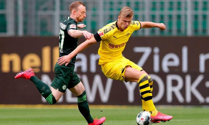 Вольфсбург - Боруссия Д 0:2. Осторожная игра, в которой было все