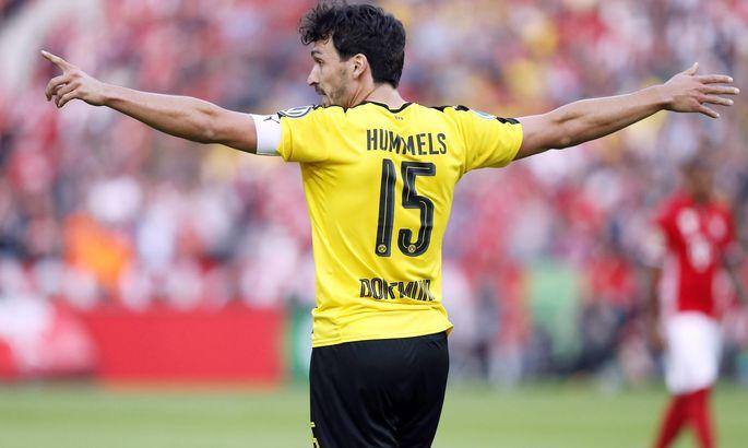 Матч с Вольфсбургом стал для Хуммельса 250-м в Бундеслиге в футболке Боруссии