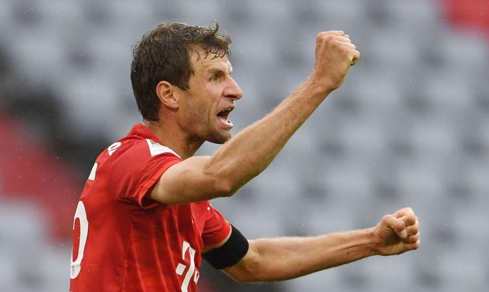 Мюллер повторив рекорд Кана за кількістю перемог в Бундеслізі