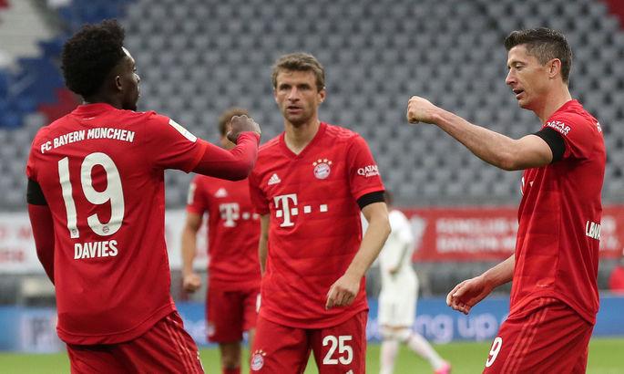 Бавария - Айнтрахт 5:2. Обзор матча и видео голов